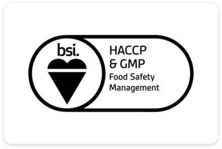 HACCP and GMP Certification Logo